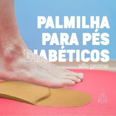 Palmilha para Pés Diabéticos