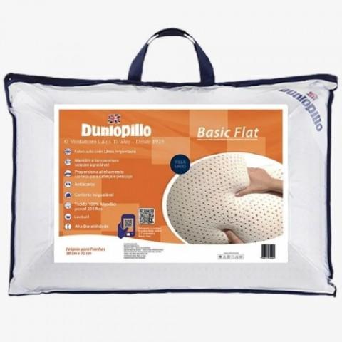 Travesseiro Basic Flat Soft - Dunlopillo