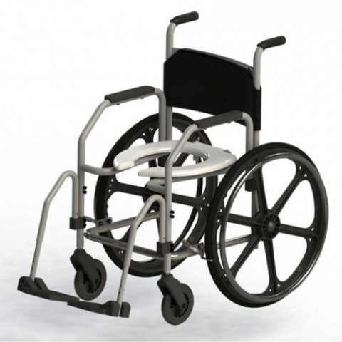 Cadeira de Banho Aço RG - Jaguaribe