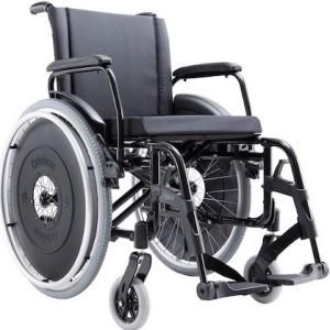 Cadeira de Rodas AVD Alumínio - Ortobrás